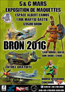 Exposition BRON 2016 ANNULEE POUR SCALE 47276310