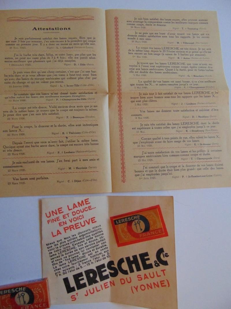 Publicité LERESCHE 1926 Leresc11