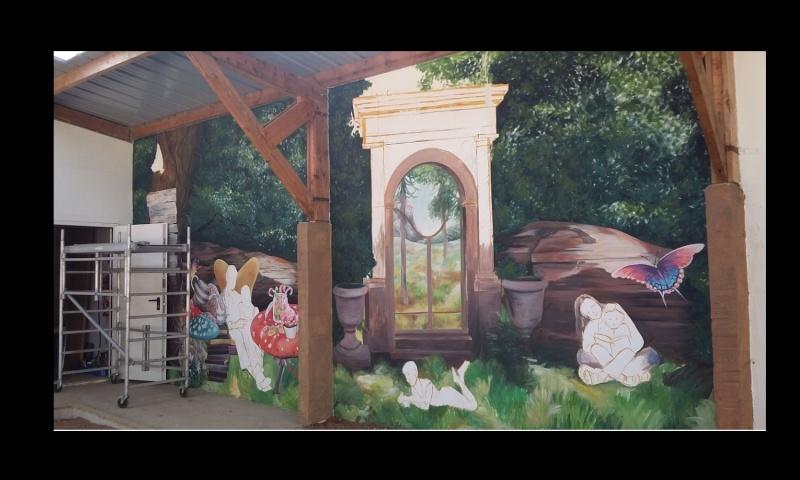 la fresque d'Anna Kropiowska à la duchesse Anne 642611