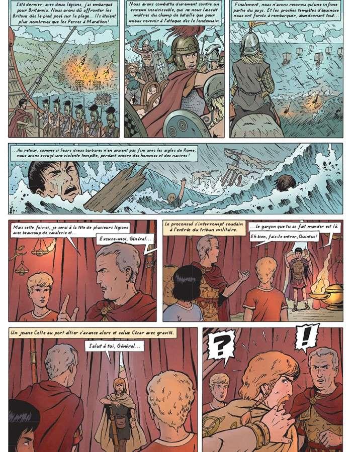 Alix chez les Celtes : une quête identitaire (bande dessinée) 6460