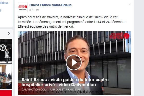 Après deux ans de travaux, la nouvelle clinique de Saint-Brieuc est terminée. Le-mod10
