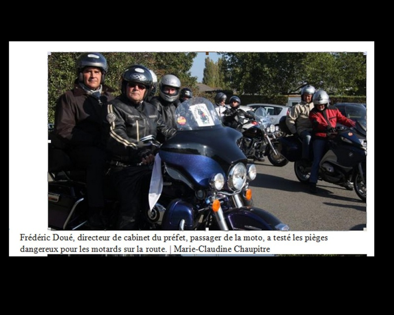 Saint-Brieuc. Des élus motards d'un jour pour la sécurité Sans_168