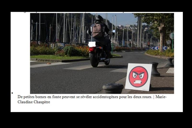 Saint-Brieuc. Des élus motards d'un jour pour la sécurité Sans_169