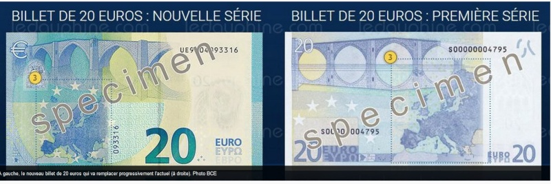 Le nouveau billet de 20 euros arrive le 25 novembre  Sans_245
