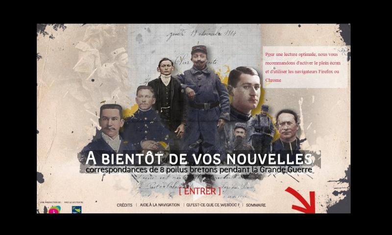 Guerre 14-18. Des lettres de poilus bretons en ligne Sans_292