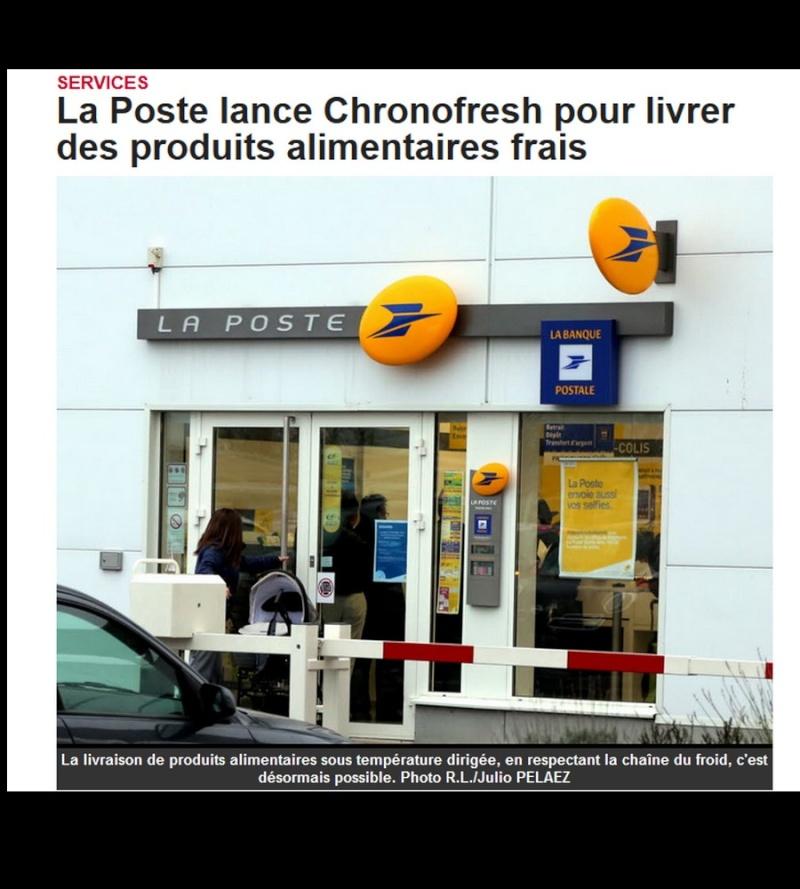 La Poste lance Chronofresh pour livrer des produits alimentaires frais  Sans_442