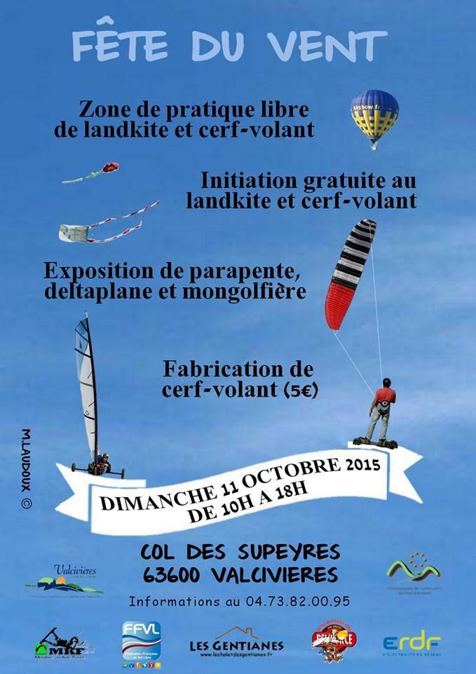 2015 / Dimanche 11 octobre / Fête du Vent à Valcivieres 12002710