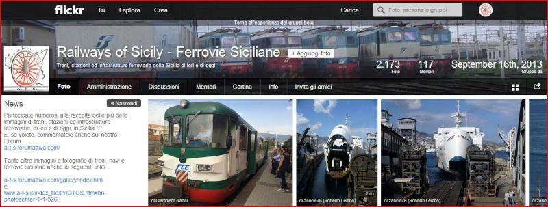 "Anniversario piattaforma fotografica su Flickr ""Railways of Sicily - Ferrovie Siciliane"" Ros10"