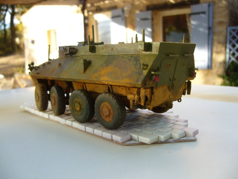 LAV 25 version command vehicle - ESCI - 1/35 from the box - Page 4 P1030219
