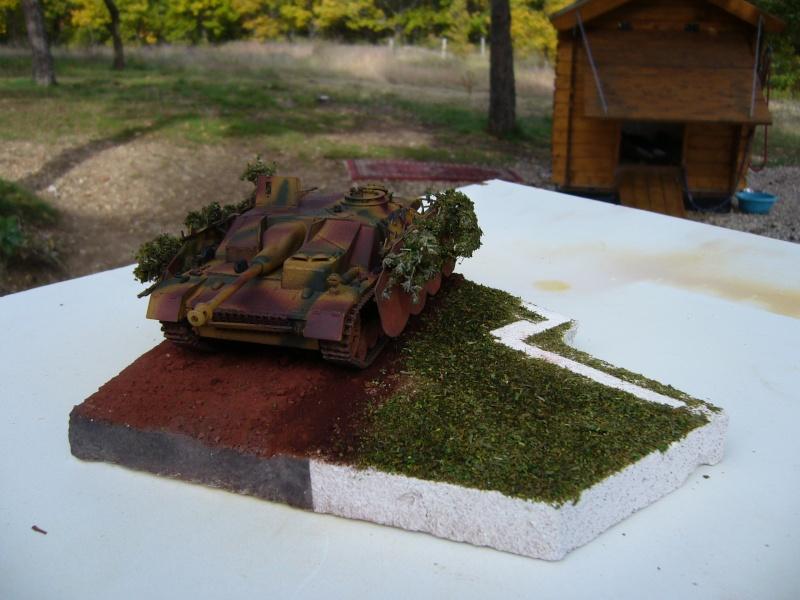 Sd.Kfz. 163 Sturmgeschütz IV Tamiya + chenilles Tamiya + Zimmerit Eduard +canon RB Model - 1/35 - Page 11 P1030233
