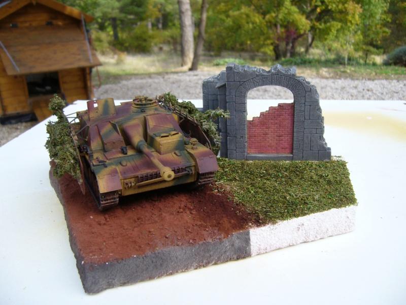 Sd.Kfz. 163 Sturmgeschütz IV Tamiya + chenilles Tamiya + Zimmerit Eduard +canon RB Model - 1/35 - Page 11 P1030234