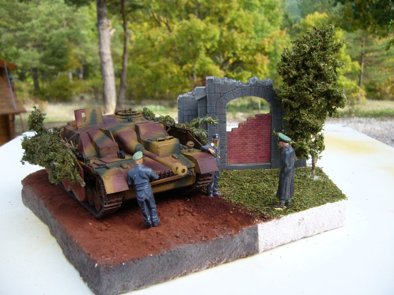 Sd.Kfz. 163 Sturmgeschütz IV Tamiya + chenilles Tamiya + Zimmerit Eduard +canon RB Model - 1/35 - Page 11 P1030235