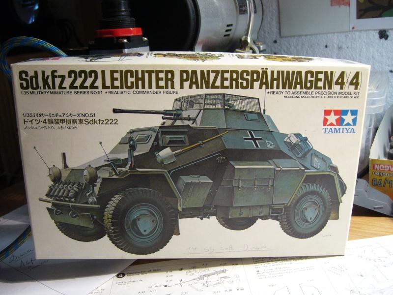 Sd.Kfz 222 Panzerspähwagen - Tamiya 1/35 P1030240
