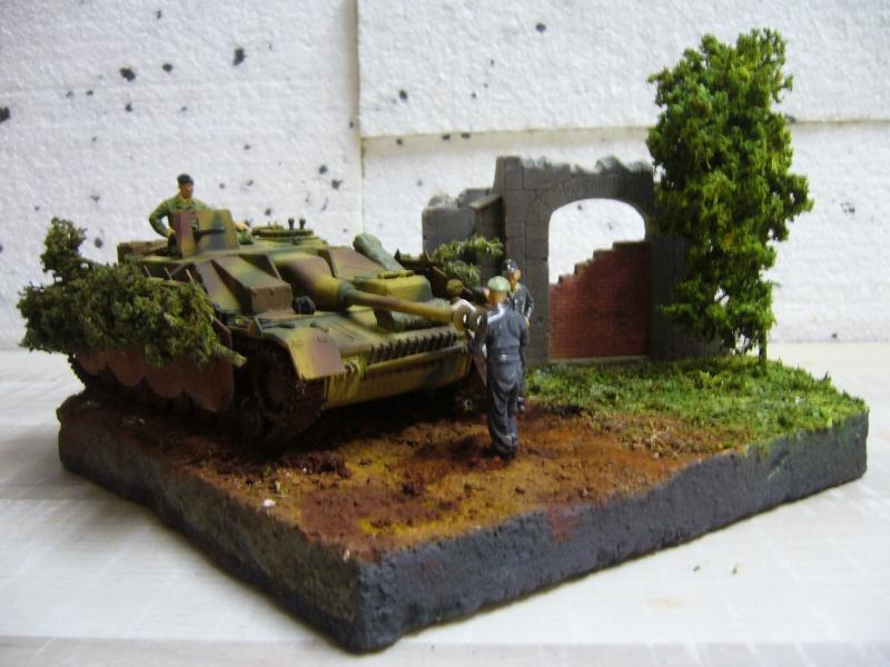 Sd.Kfz. 163 Sturmgeschütz IV Tamiya + chenilles Tamiya + Zimmerit Eduard +canon RB Model - 1/35 - Page 11 P1030244