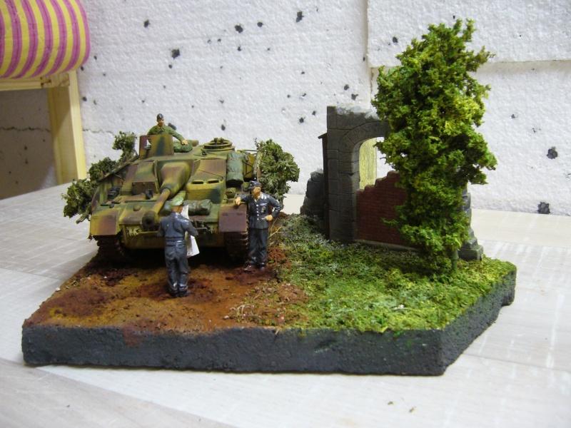 Sd.Kfz. 163 Sturmgeschütz IV Tamiya + chenilles Tamiya + Zimmerit Eduard +canon RB Model - 1/35 P1030245