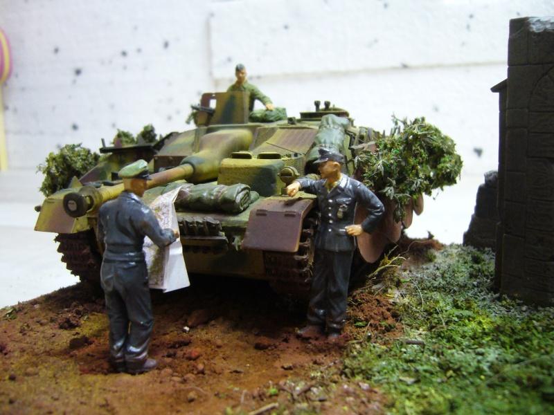 Sd.Kfz. 163 Sturmgeschütz IV Tamiya + chenilles Tamiya + Zimmerit Eduard +canon RB Model - 1/35 P1030251