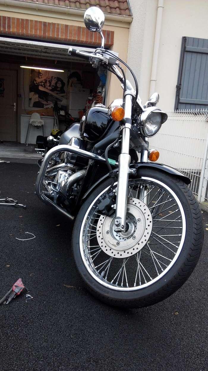 Shadow 750 spirit avis sur achat  310