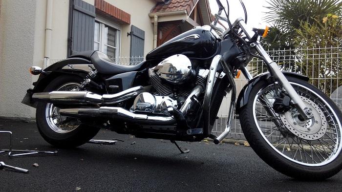 Shadow 750 spirit avis sur achat  510