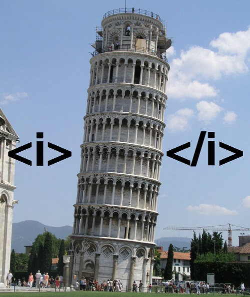 This is what italic looks like in real life Why-we10
