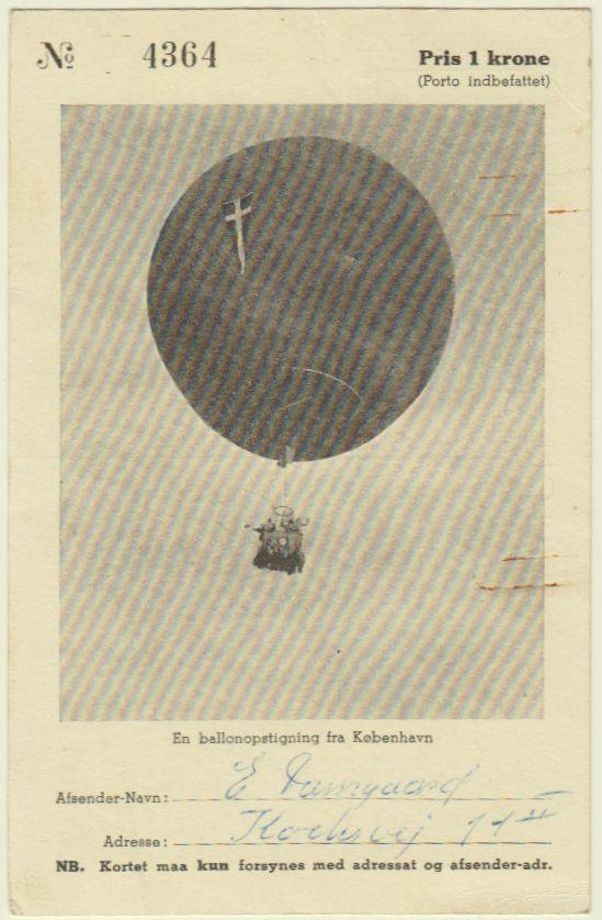 Ballonpost Schweden Ballon11