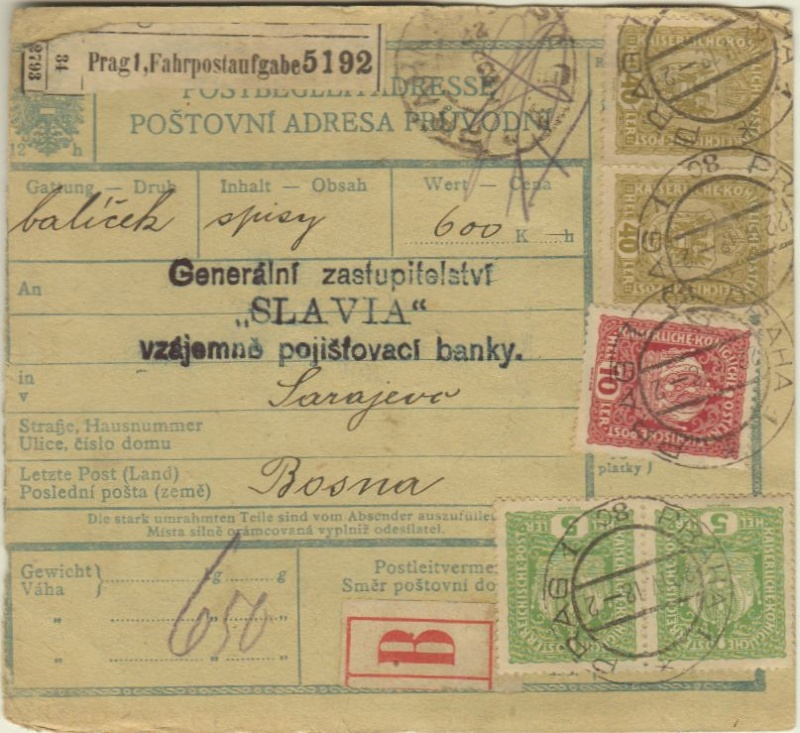 Inflation in Österreich - Belege - 1918 bis 1925 - Seite 5 Prag_b10