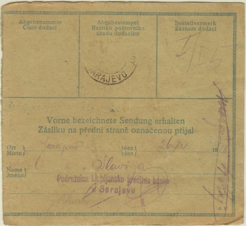 Inflation in Österreich - Belege - 1918 bis 1925 - Seite 5 Prag_b11