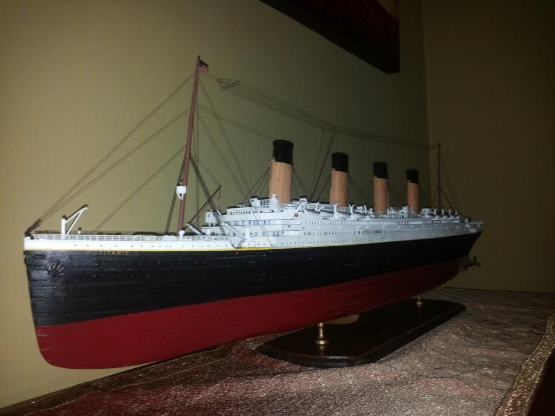 titanic - R.M.S. Titanic 1/250 Amati migliorato 20150910