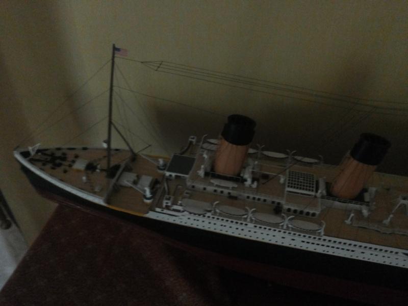 titanic - R.M.S. Titanic 1/250 Amati migliorato 20150912