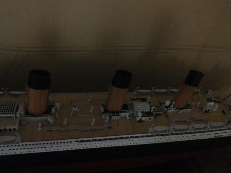 titanic - R.M.S. Titanic 1/250 Amati migliorato 20150913