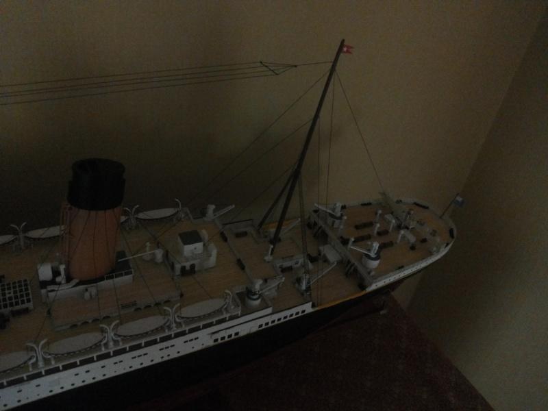 titanic - R.M.S. Titanic 1/250 Amati migliorato 20150914