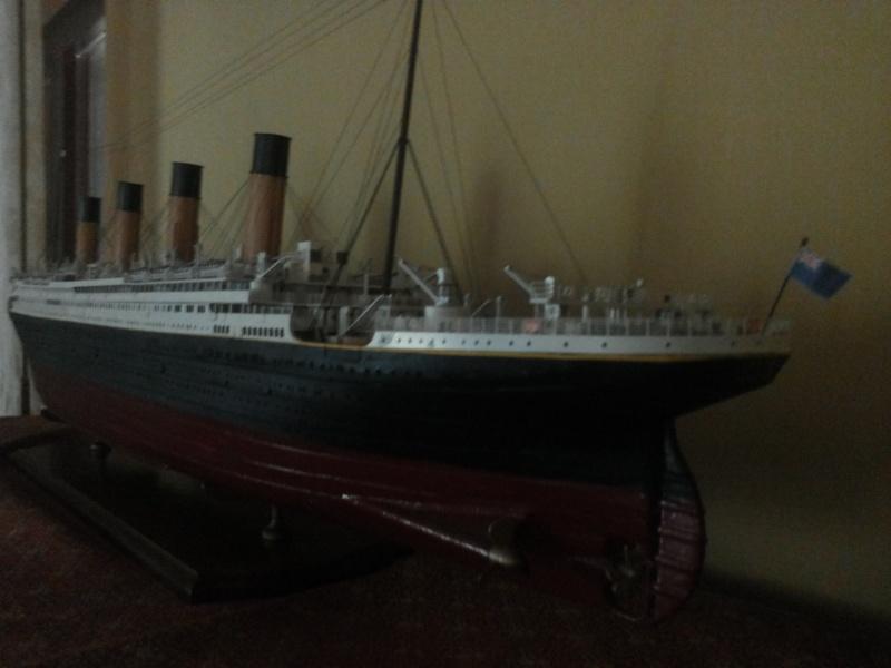 titanic - R.M.S. Titanic 1/250 Amati migliorato 20150915