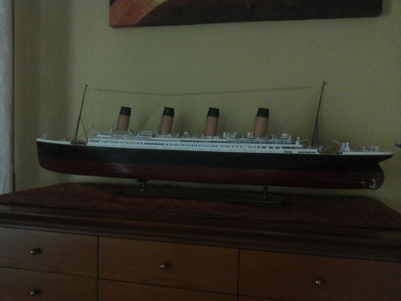 titanic - R.M.S. Titanic 1/250 Amati migliorato 20150916
