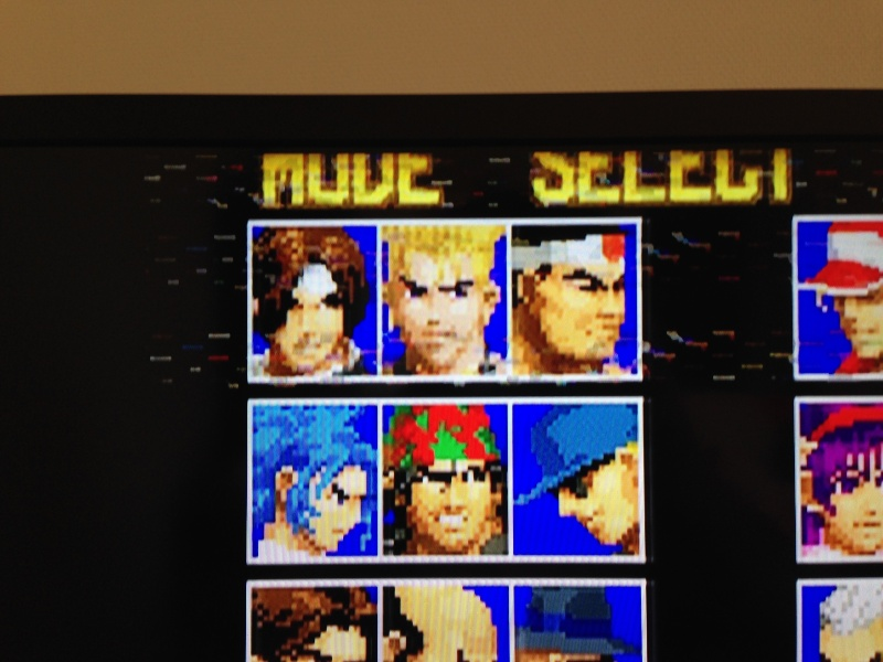 [PROBLEME] Neo Geo AES : Glitches graphiques horizontaux Img_1411