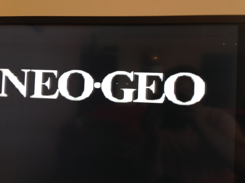[PROBLEME] Neo Geo AES : Glitches graphiques horizontaux Img_1412