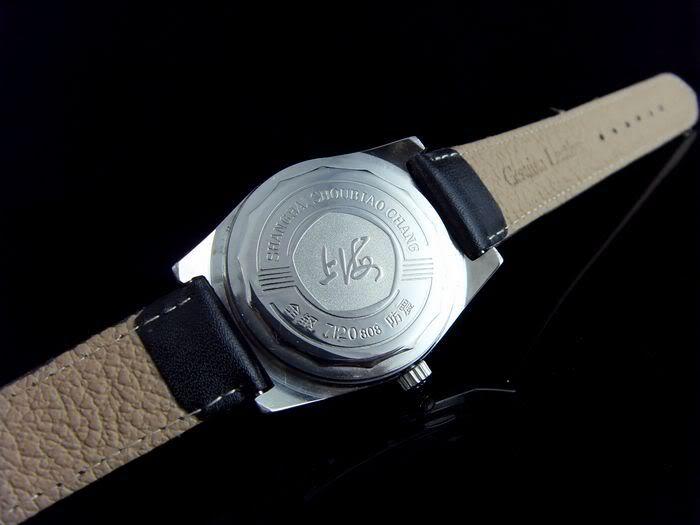Une montre auto de qualité avec caractères chinois Shangh15