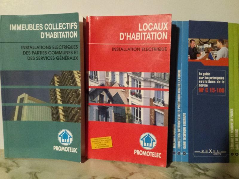 """La bible rouge """"INSTALLATION ELECTRIQUE"""" dans les Locaux d'habitation (Norme NFC 15-100) 20150910"""