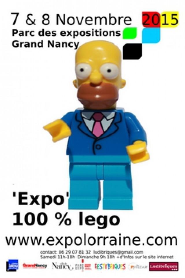 """[Expo] Ludibriques """"100% lego"""" les 7 et 8 novembre 2015 à Nancy 86725-10"""