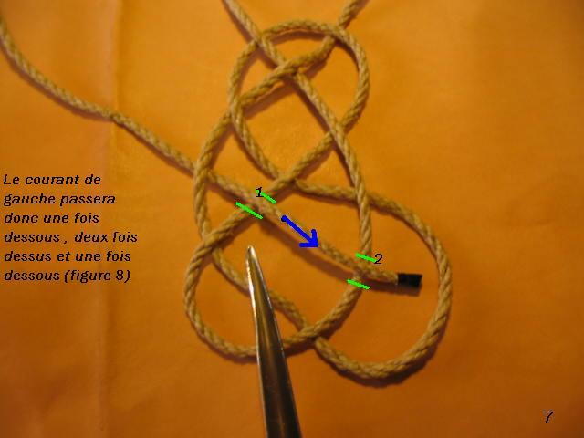 La baderne a partir d'un demi-nœud  Badern17