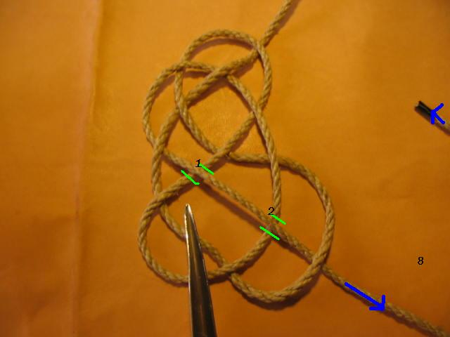 La baderne a partir d'un demi-nœud  Badern18