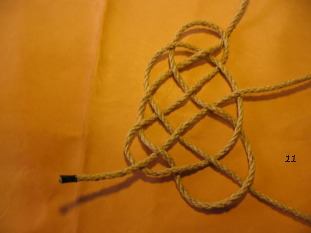 La baderne a partir d'un demi-nœud  Badern21