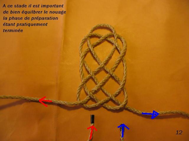 La baderne a partir d'un demi-nœud  Badern22