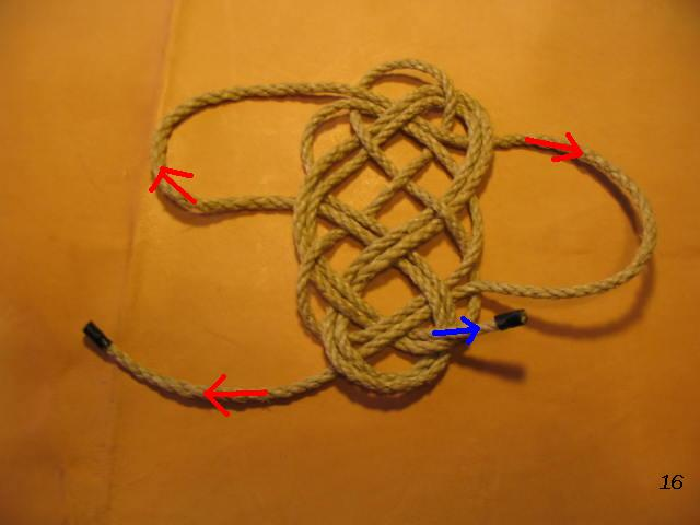 La baderne a partir d'un demi-nœud  Badern25