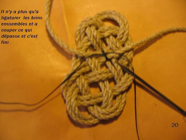 La baderne a partir d'un demi-nœud  Badern29