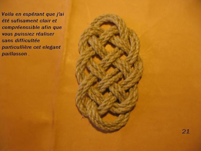 La baderne a partir d'un demi-nœud  Badern30