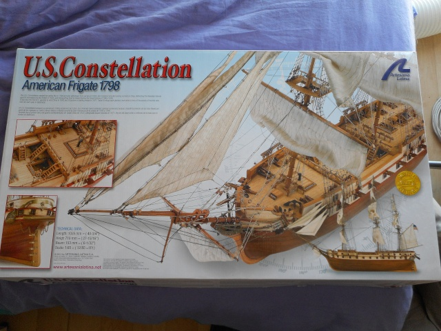 US Constellation  Artesania Latina au 1/85 Usc_113