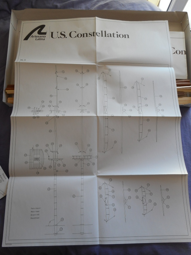"""US Constéllation""  de Artesania Latina Usc_1910"