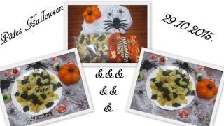 Pâtes Halloween au beurre. 11046510