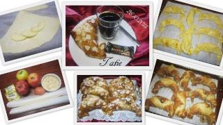 Croissants aux pommes et amandes. 12049110