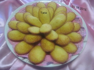 Madeleines au citron. Img_8810