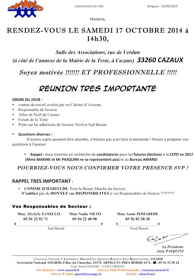 Adhérentes  reunion sud et nord bassin le 17 octobre 2015 Reunio11